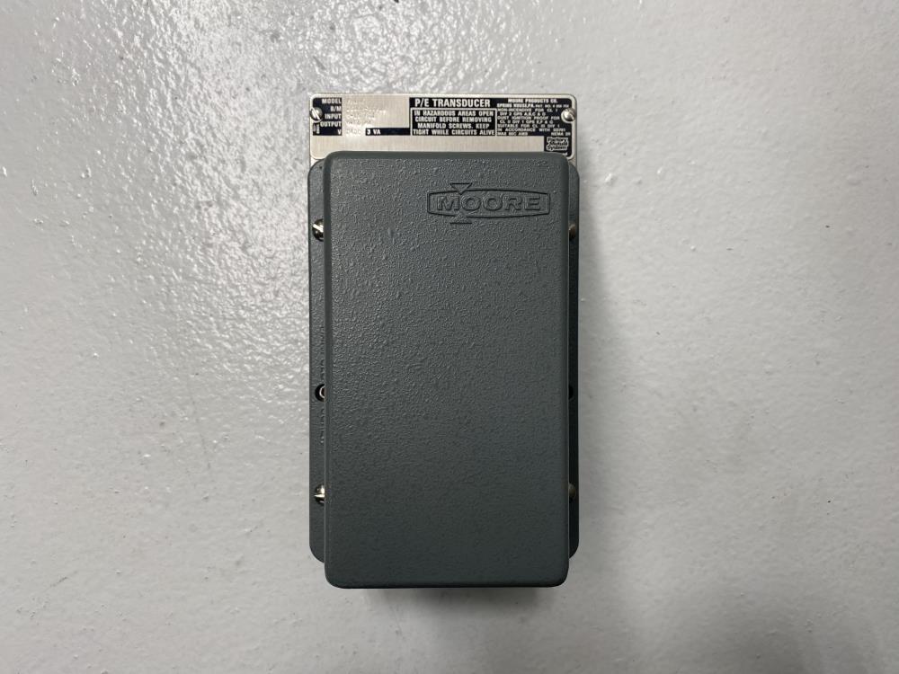 Moore P/E Transducer 781N6, B/M# 15007-5S7JB
