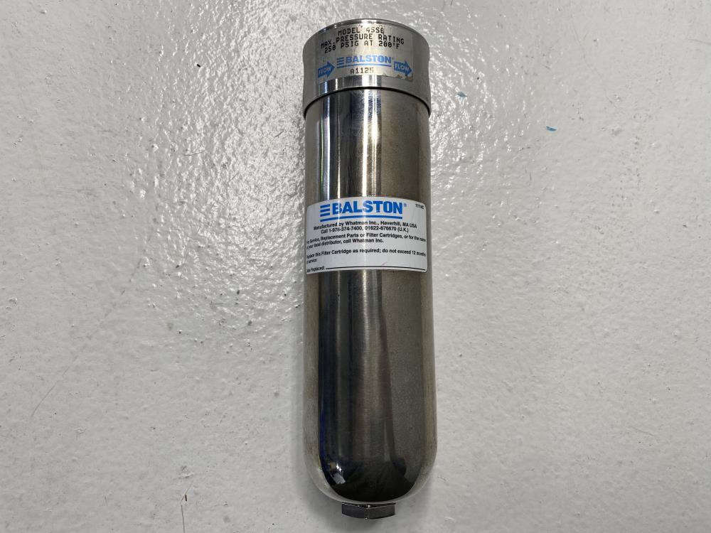 "Balston 1/2"" NPT Stainless Steel Filter Housing 4556"