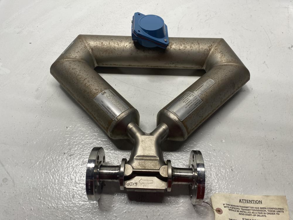 """Micro Motion 1"""" 150# Hastelloy C22 Elite Coriolis Flowmeter CMF100H530NRAUEZZZ"""