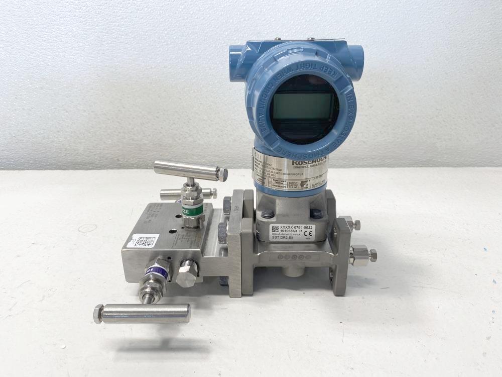 Rosemount 0-200 in H2O Pressure Transmitter 3051CD2A02A1AE5L4M5H2S6Q4QS