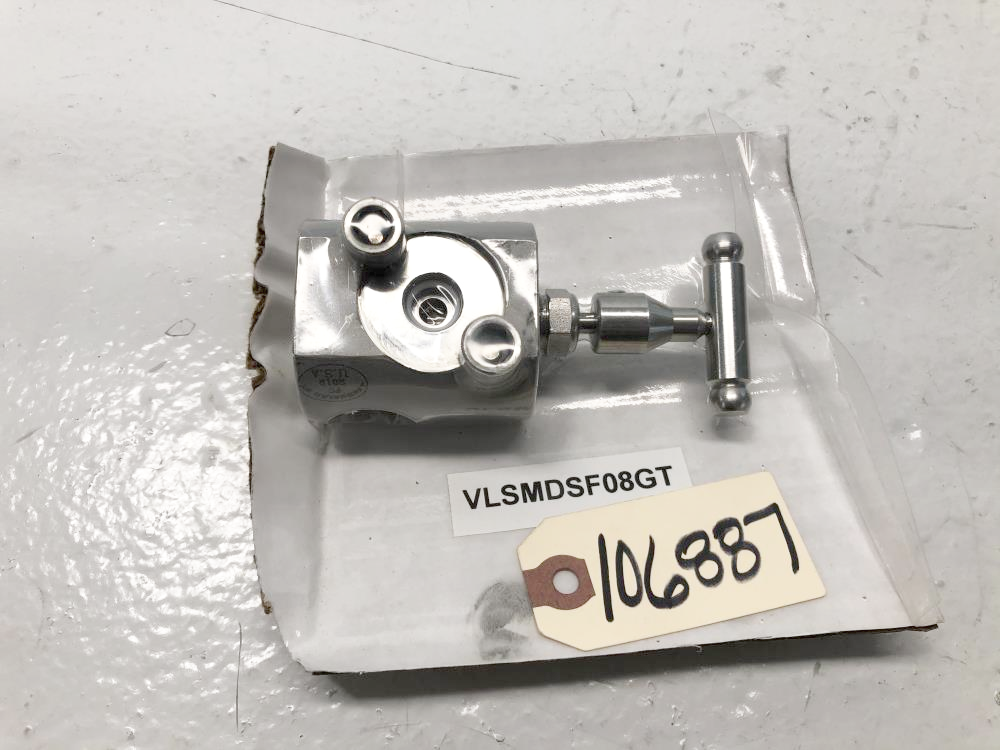 "D/A 1/2"" 4-Way Sampling Valve, GPSV-T-SS-F4F4FLG"
