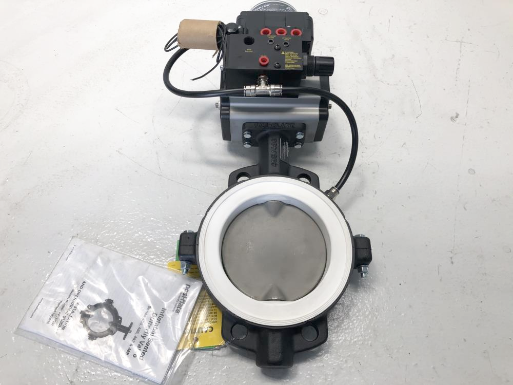 "PosiFlate 6"" 150# CI Actuated Butterfly Valve,  #4860610-01041602-101101139"