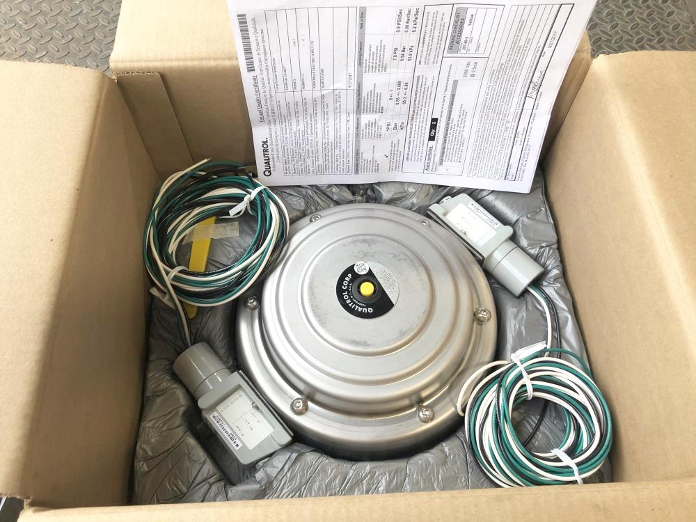 Qualitrol Pressure Relief Device, 216-001-02 CS-40317  W/ (2) Alarm Switches