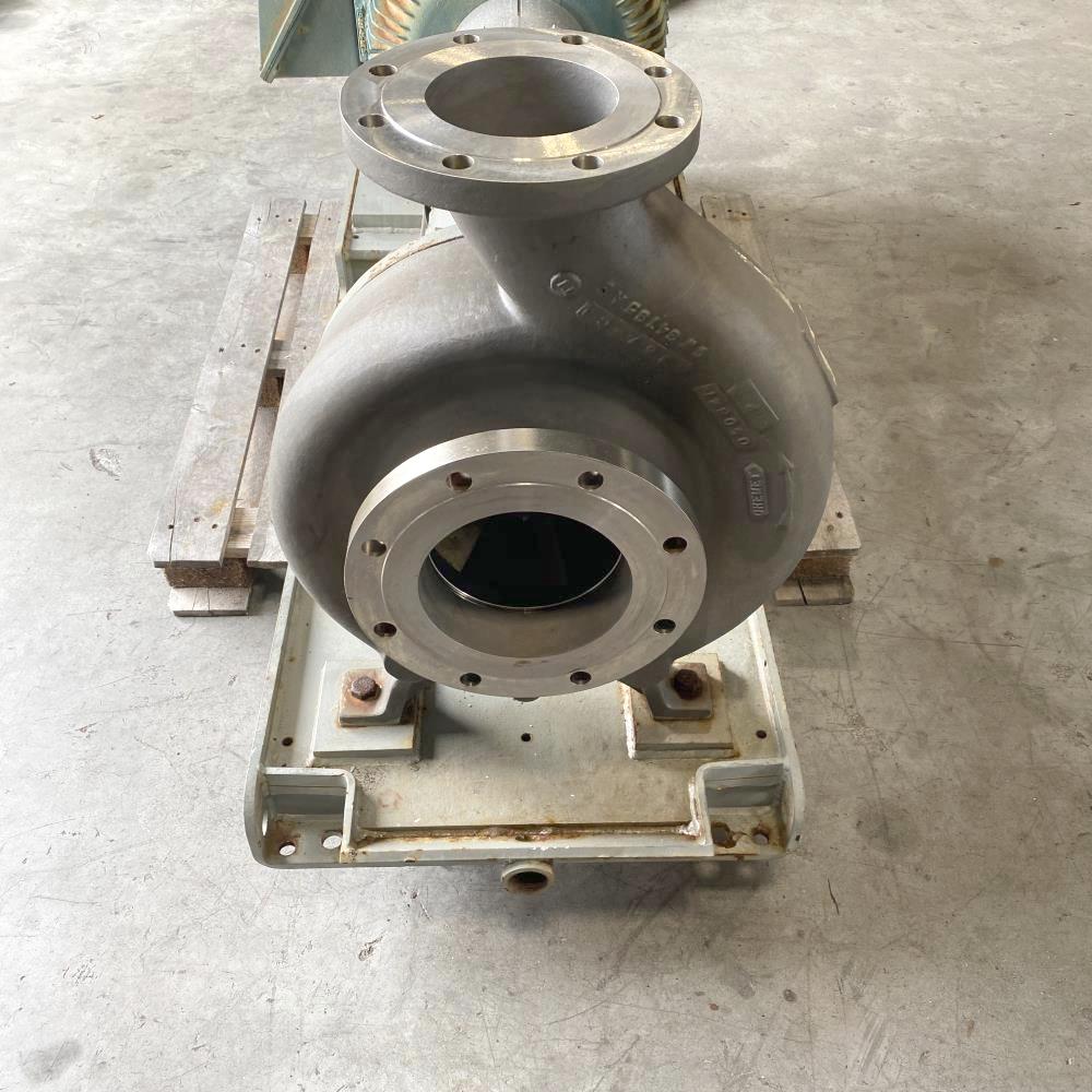 Durco MK3 STD Centrifugal Pump 3K8X6-14ARV/11.81, Titanium W/ 100 HP Motor