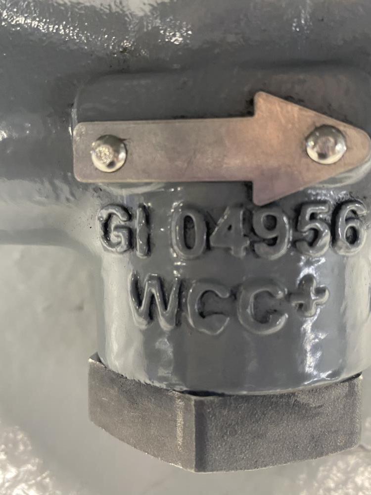 "Fisher 1/2"" WCC MR95L Pressure Regulator"