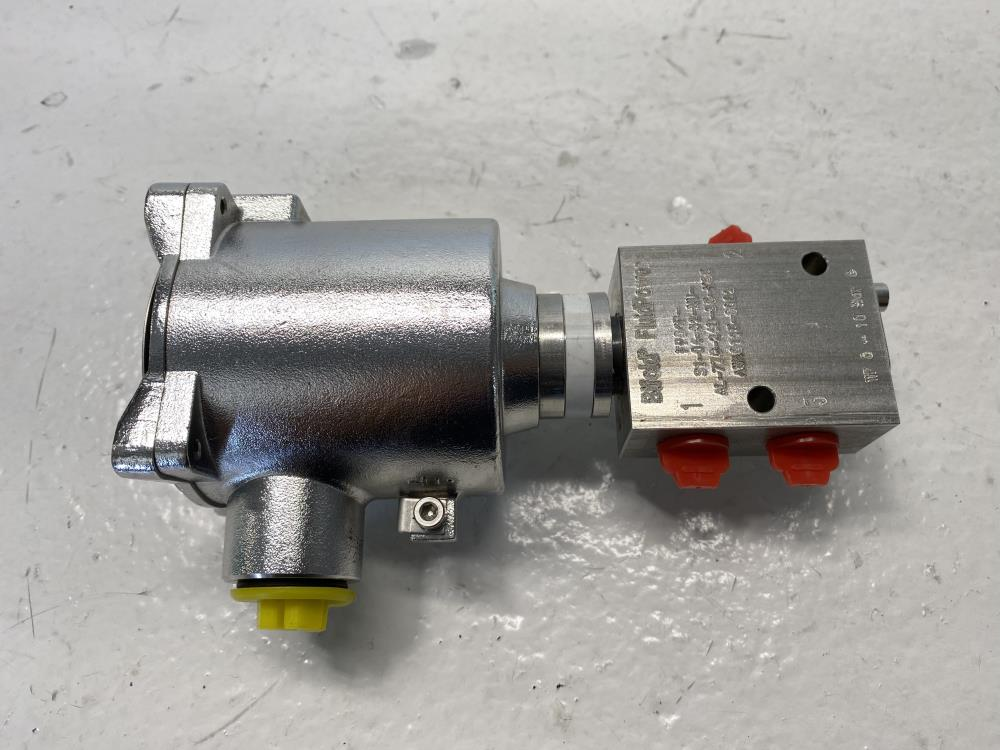 """BiFold FluidPower 1/4"""" Stainless 3-Way Direct Acting Solenoid Valve FP06P-77G"""
