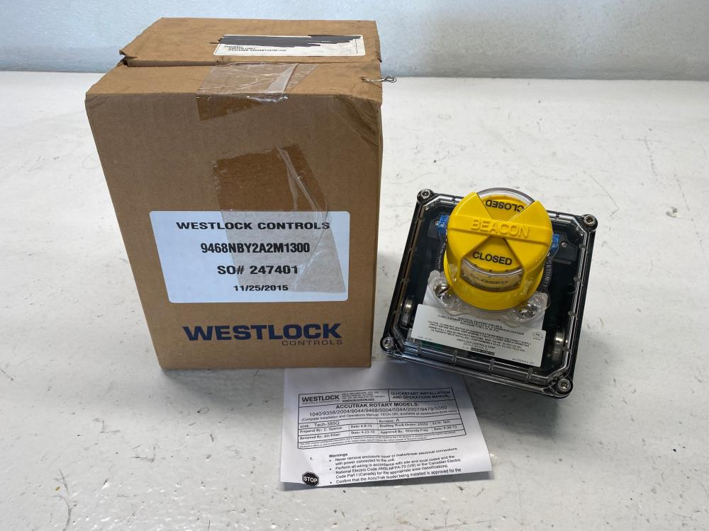 Westlock Controls Limit Switch, 9468NBY2A2M1300