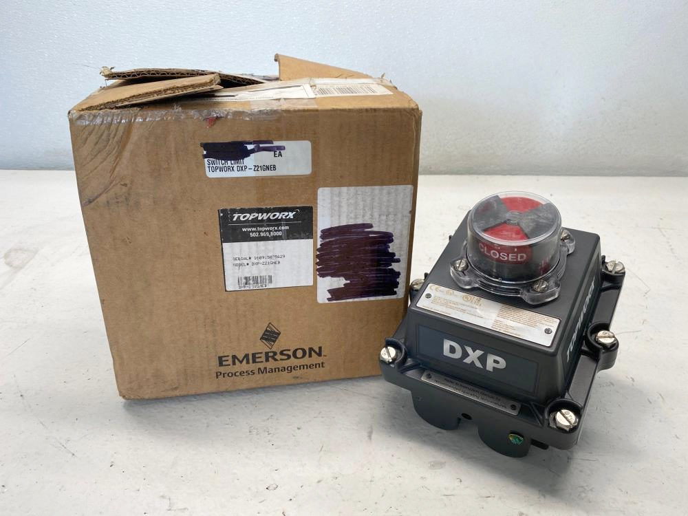 TopWorx DXP Limit Switch DXP-Z21GNEB