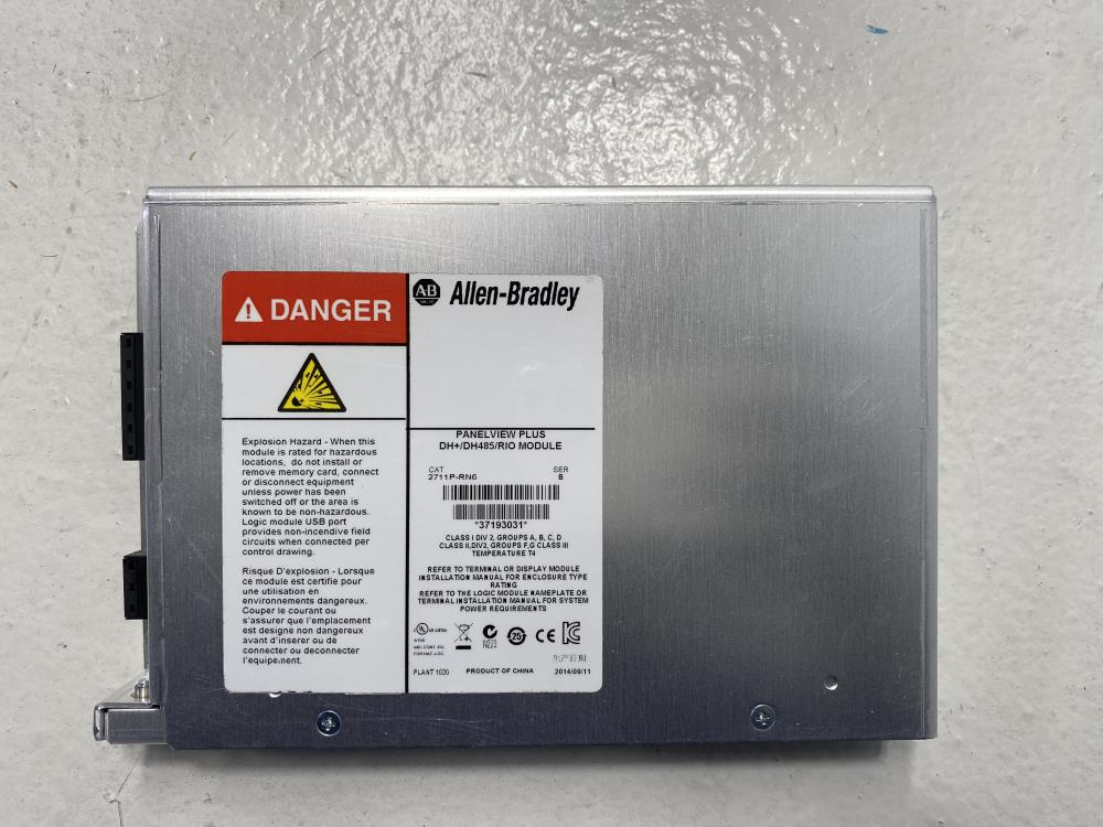 Allen Bradley PanelView Plus DH+/DH485/RIO Communication Module 2711P-RN6