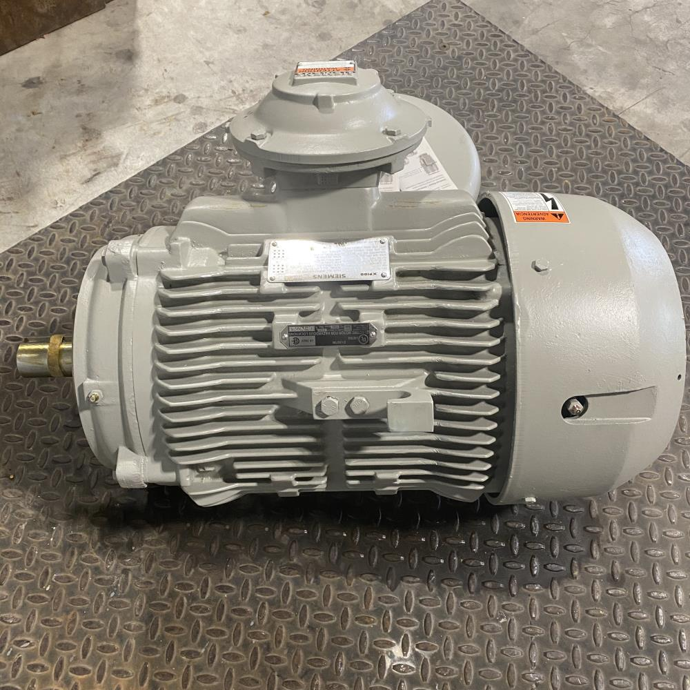 Siemens XP100 Vertical Explosion Proof Motor 1MB21212BC216LG3, 10 HP, 1175 RPM