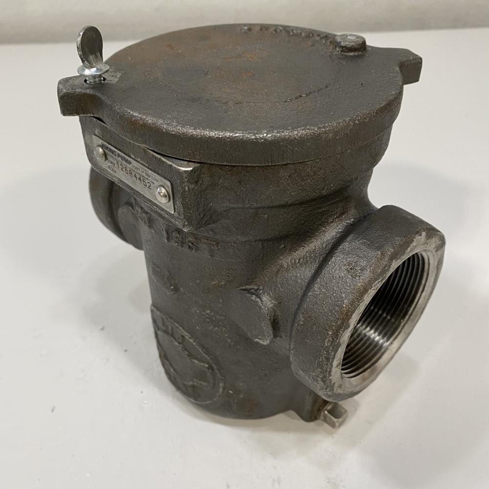 "Viking Pump 2"" Lid Ease Simplex Strainer, Stainless Steel F1020-ISST"