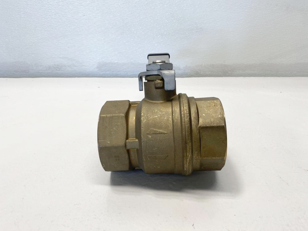"Rub 3"" Threaded NPT Brass Ball Valve, S.71"