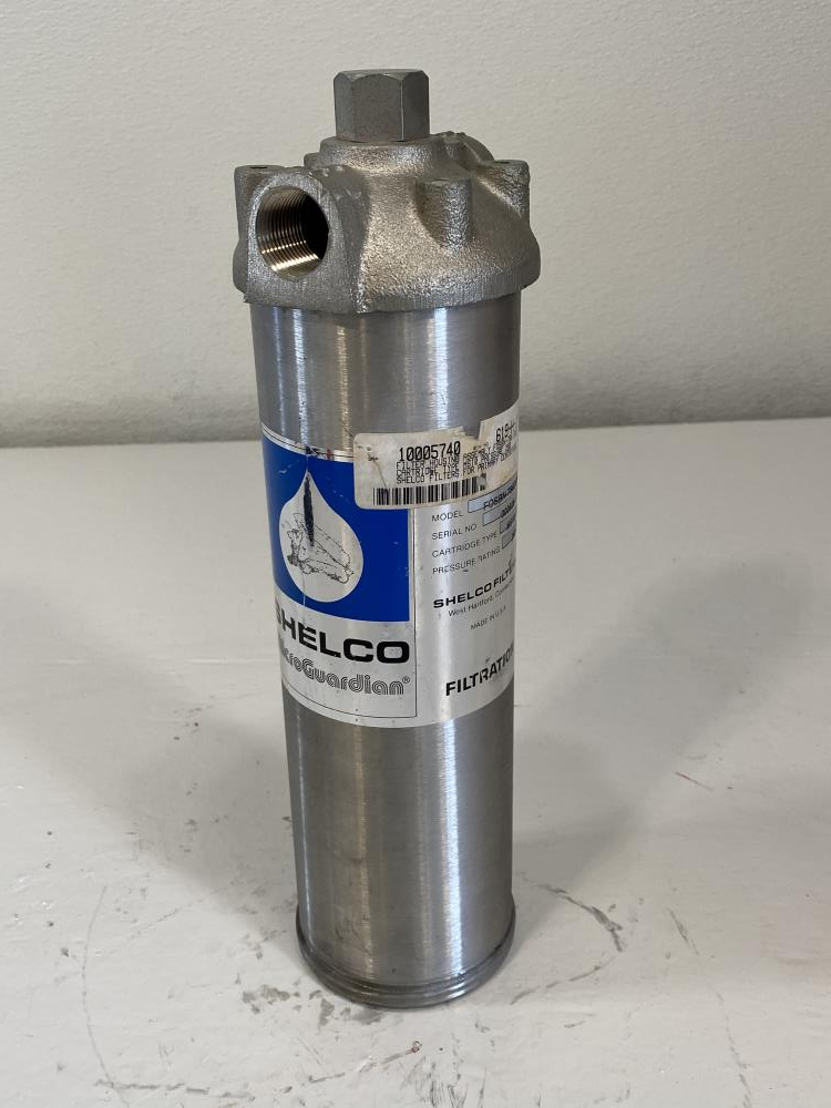 "Shelco MicroGuardian 3/4"" NPT Stainless Filter Housing Assembly, FOSBN-786 DUB"