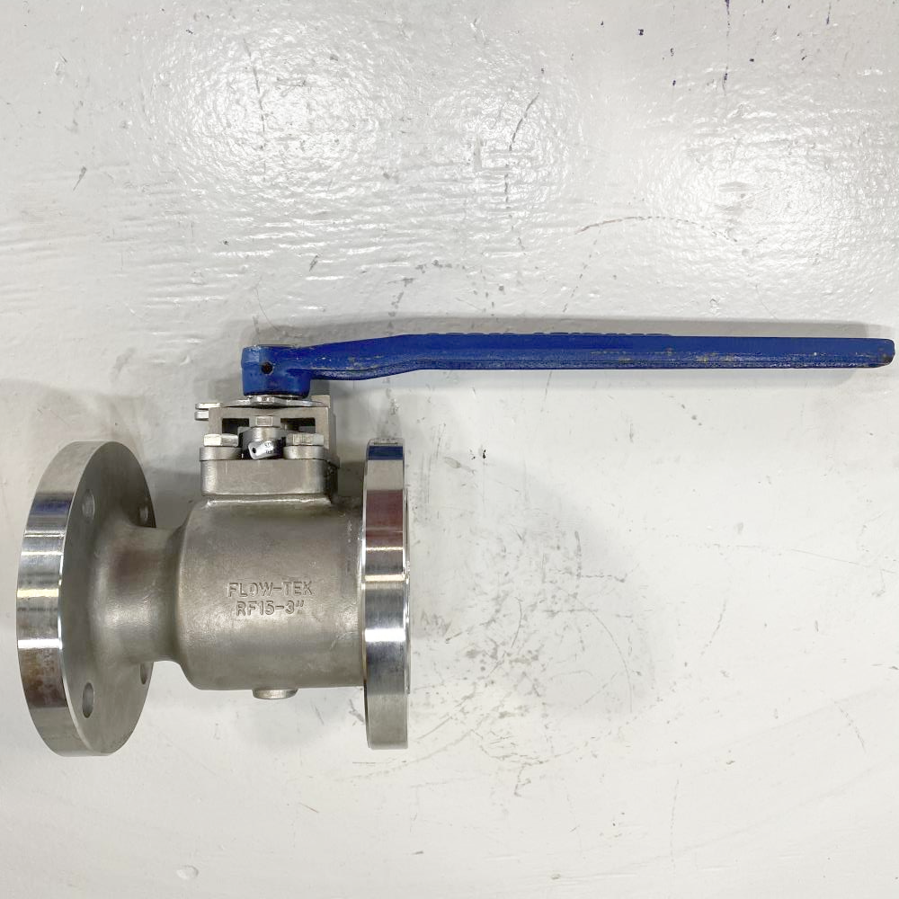 "Flow-Tek 3"" 150# RF CF8M Lever Operated Ball Valve RF15"