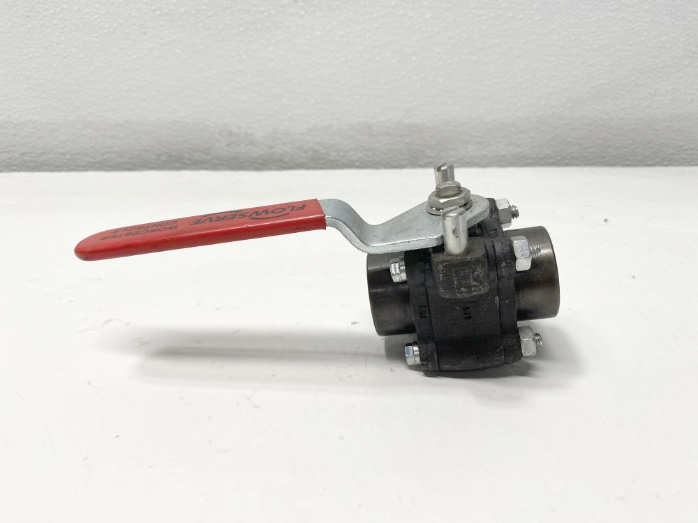 "Flowserve Worcester 3/4"" Threaded Carbon Steel Ball Valve 3/4 4446TSE R2"