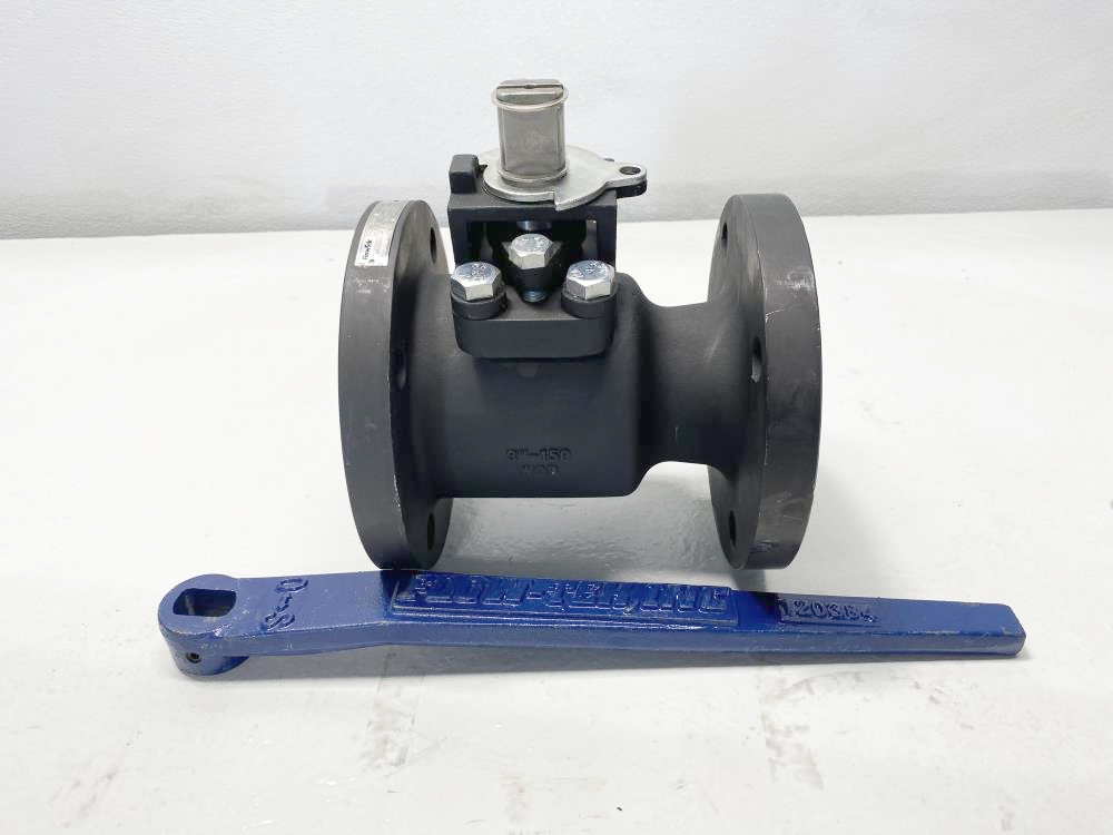 "Flow-Tek 3"" 150# RF WCB Lever Operated Ball Valve RF15"