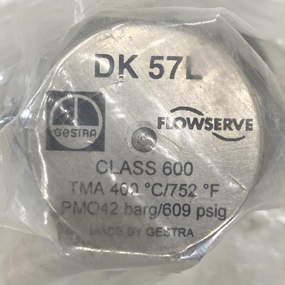 "Flowserve Gestra 3/8"" Threaded Stainless Steel Thermodynamic Steam Trap DK 57L"