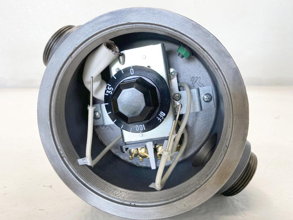 "Chromalox 2"" NPT 480V 1.6 KW Immersion Heater AREMTI-33E2T1W, 306348783"