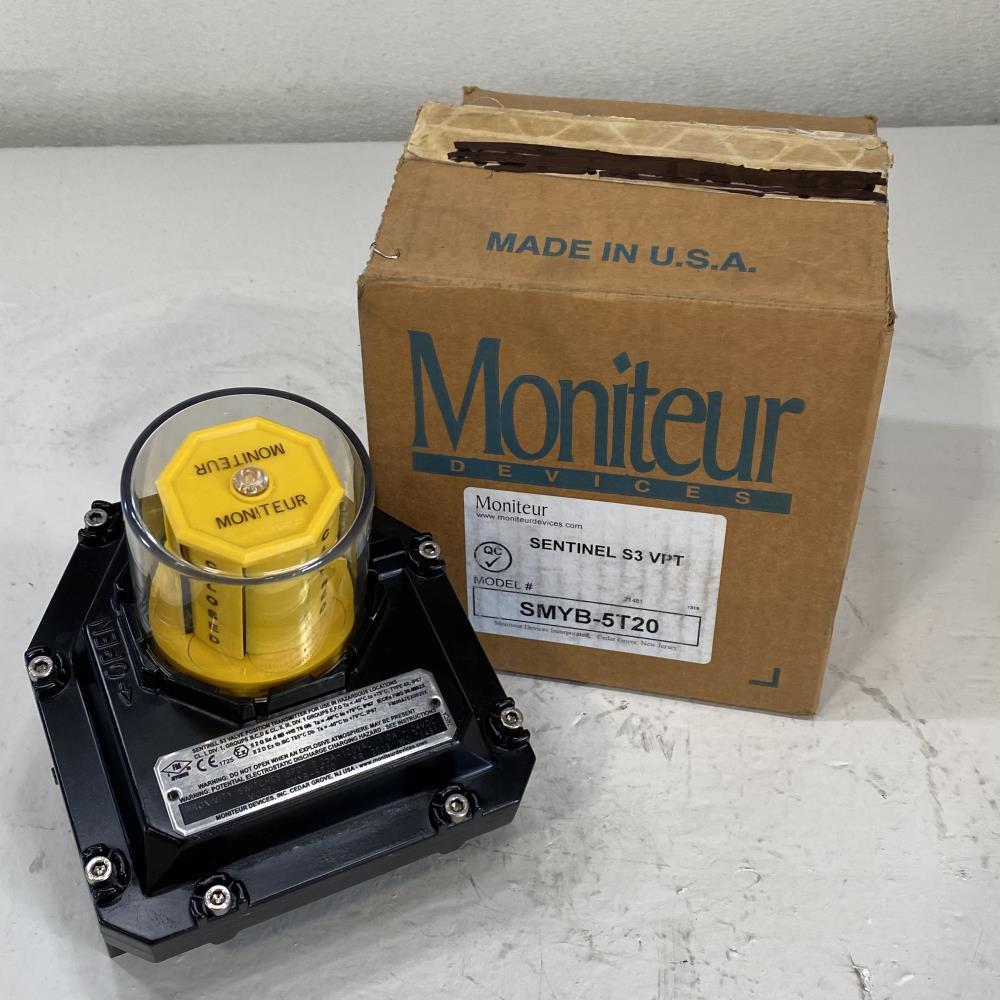 Moniteur Sentinel S3 VPT Proximity Switch SMYB-5T20