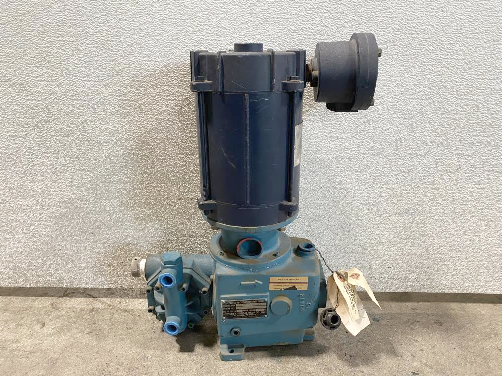 Neptune 30 GPH Proportioning Pump 547-S-N3-FA-E35 W/ Leeson 1725RPM 1/3HP Motor