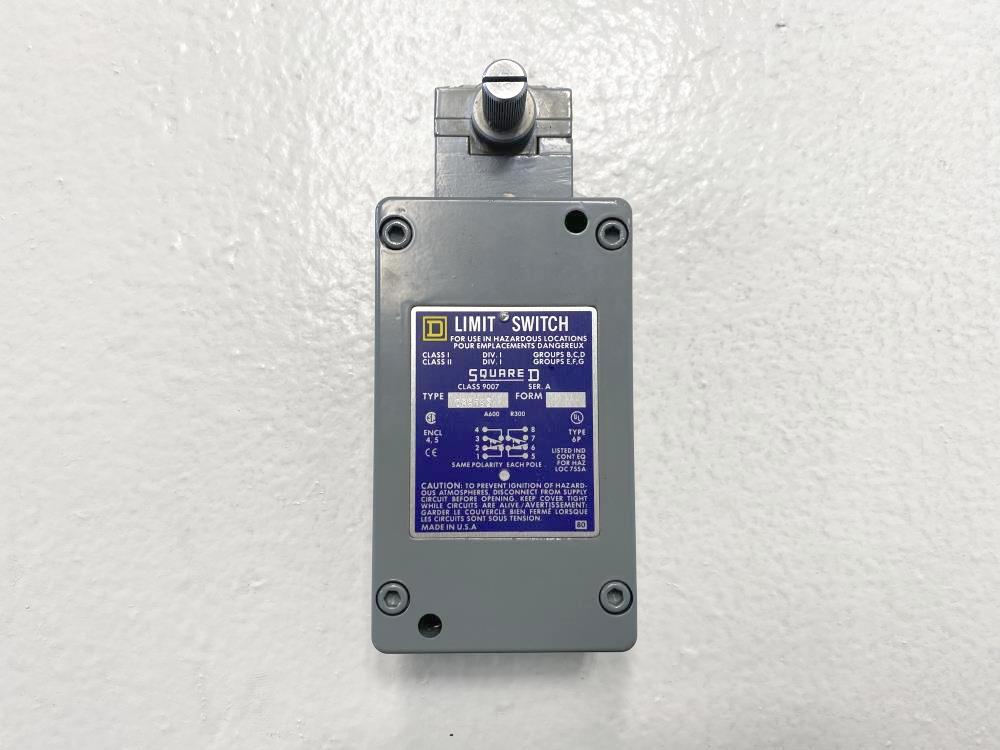 Square D Limit Switch 9007CR61B2