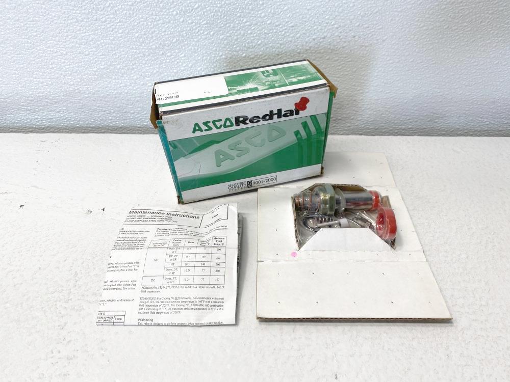 ASCO Solenoid Valve Rebuild Kit 312192