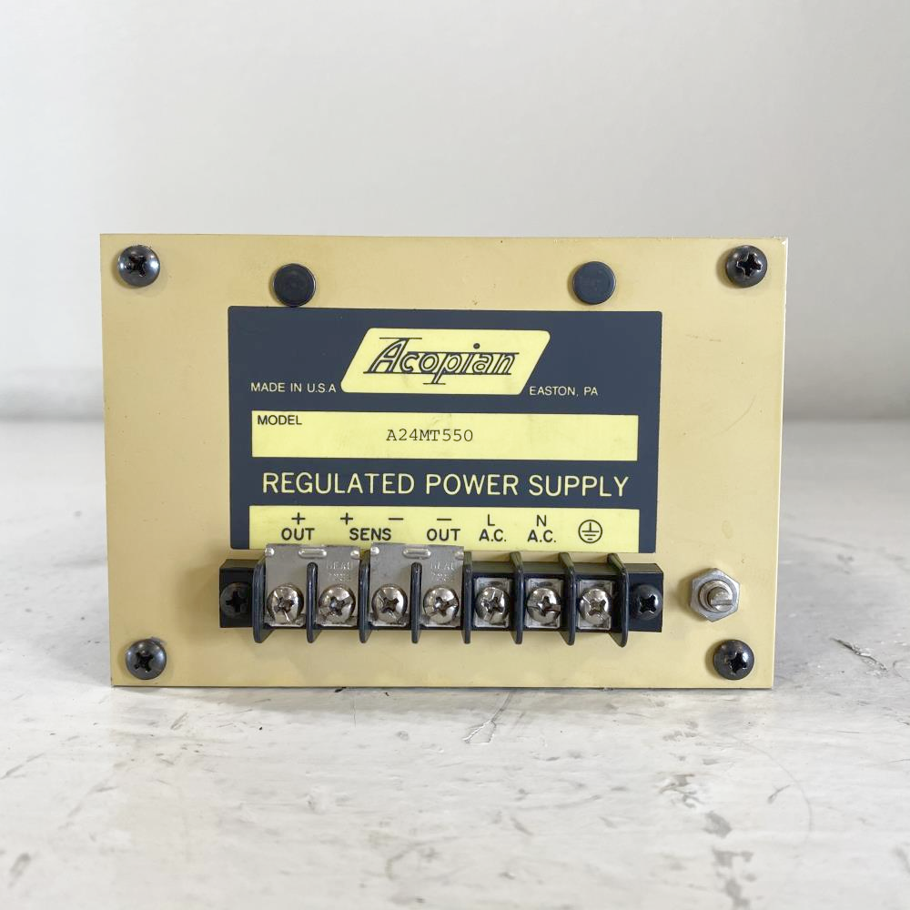 Acopian 24V Linear Regulated Power Supply A24MT550