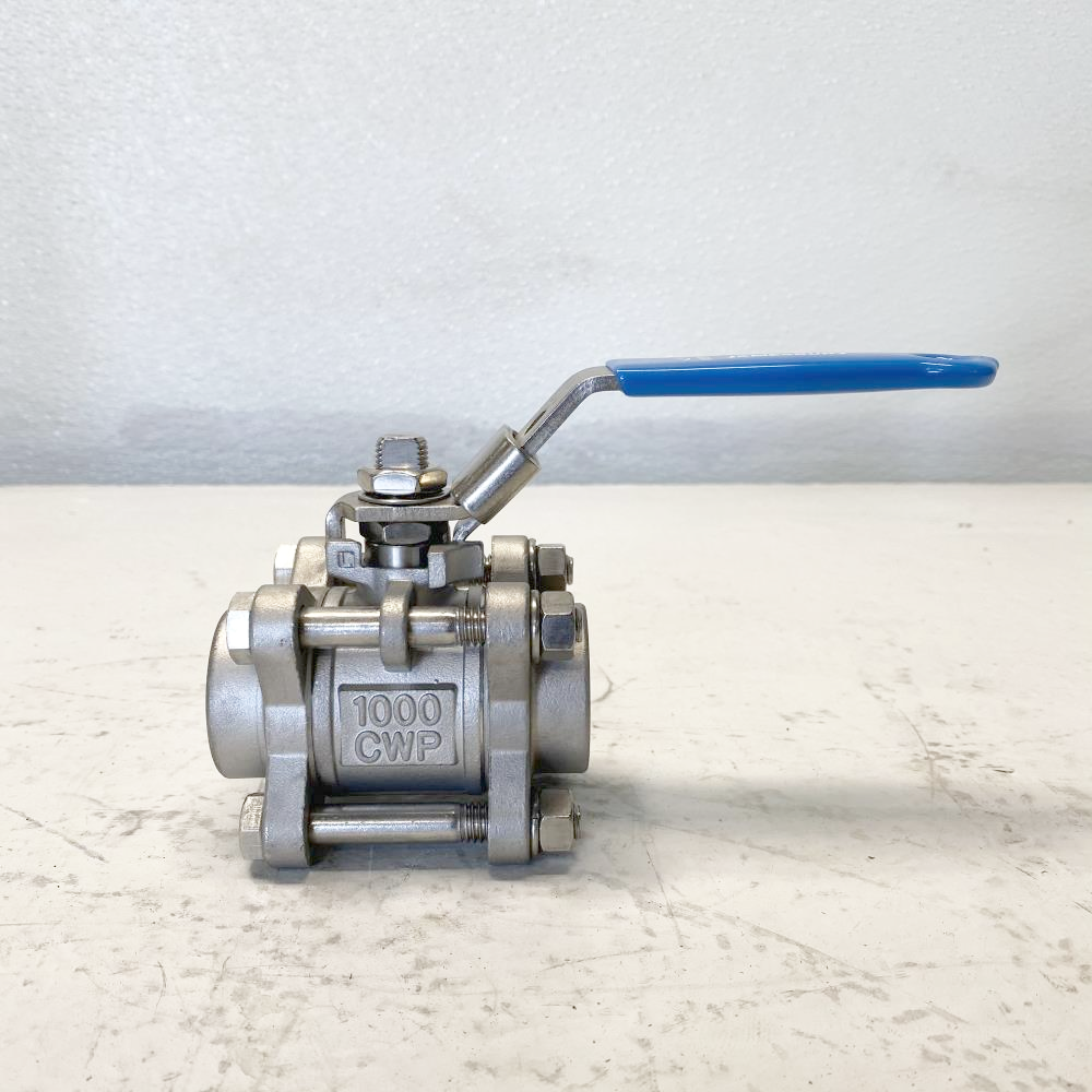 "Jamesbury 1"" Threaded CF8M Full Port Ball Valve 1"" 3A3600TT3"