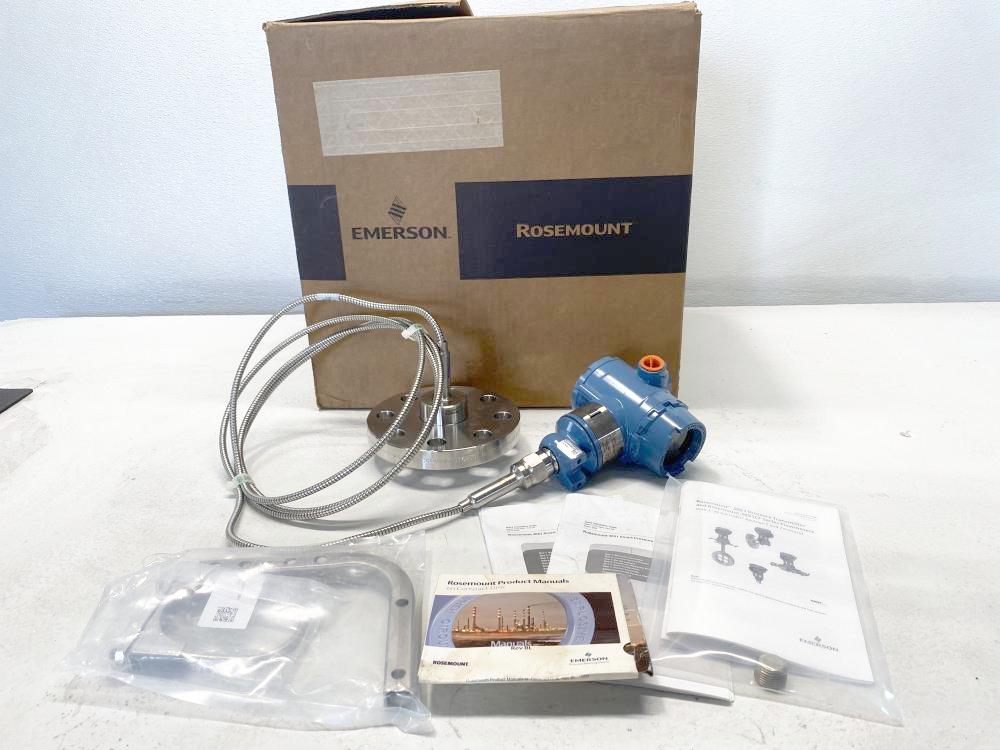 "Rosemount Pressure Transmitter 3051TG3A2B21AS1B4E5Q4M5 W/ 2"" 300# SS Flange"