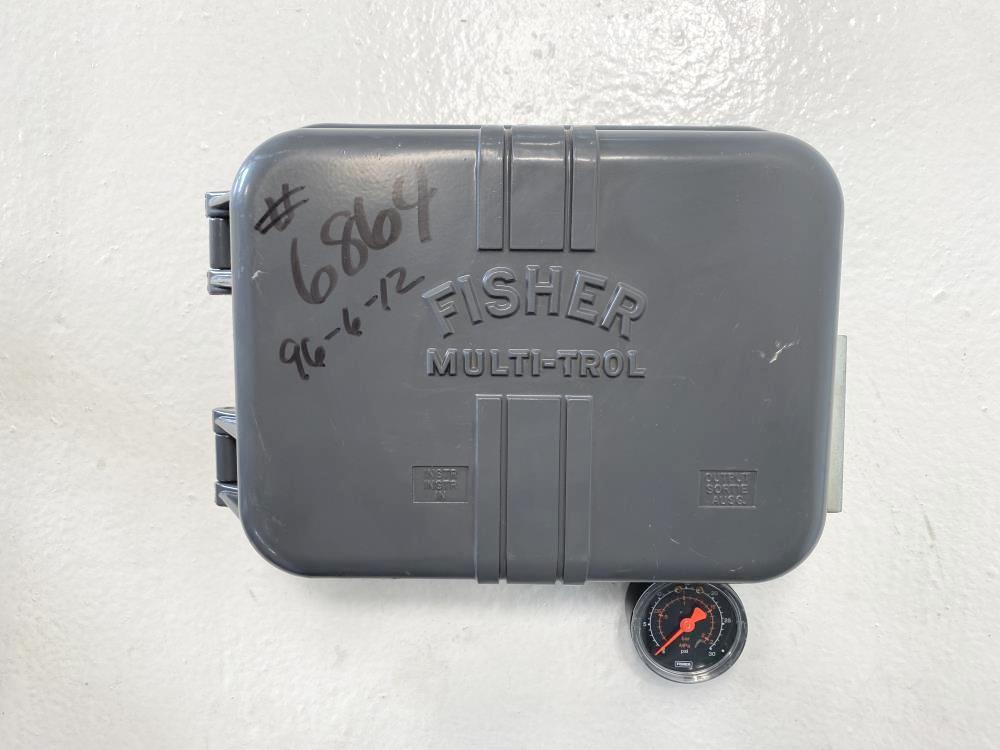 Fisher Multi-Trol 2516 Pneumatic Receiver Controller 3-15 PSIG
