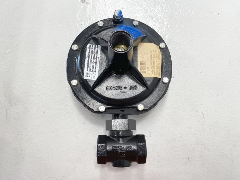 "Jordan Valve 608IS Series 1"" NPT Gas Pressure Regulator 150 PSI"