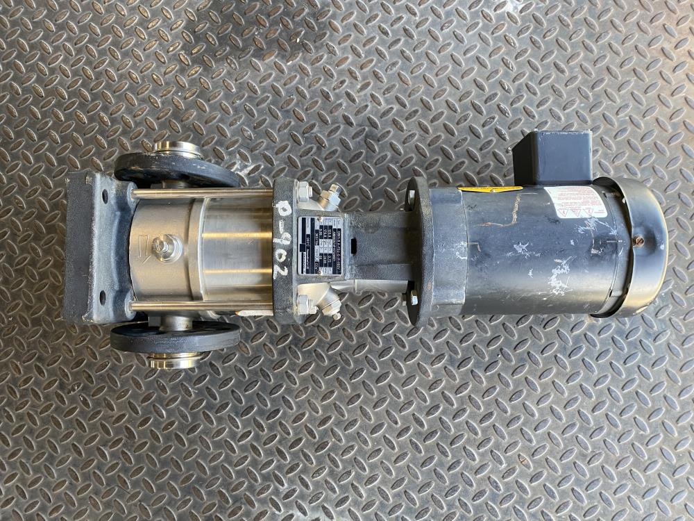Grundfos Vertical Multistage Pump CRN1-6 A-FGJ-G-V-HQQV