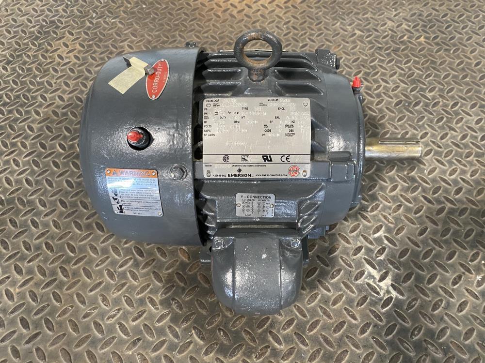 Emerson US Motors 3HP Corro-Duty Motor 3530 RPM, 230/460, 5838, C3P1B