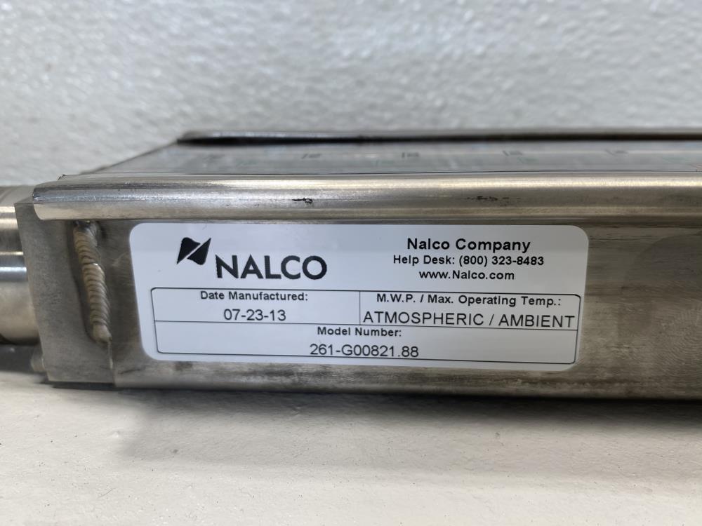 Nalco Porta-feed Gauge Assembly 261.G00821.88