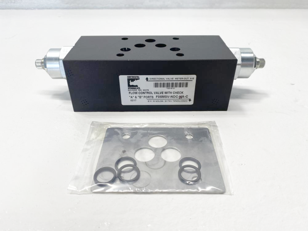 Continental Hydraulics Flow Control Directional Valve F05MSV-NDC-NA-C