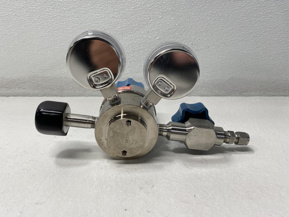 Matheson MREG-4349-BA Gas Regulator, 3000 PSI, Stainless, 3905-330