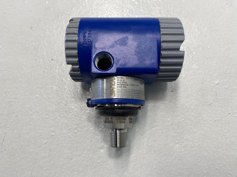 Foxboro 0-3000 PSI Pressure Transmitter IGP10-T22E1F-M1L1V3