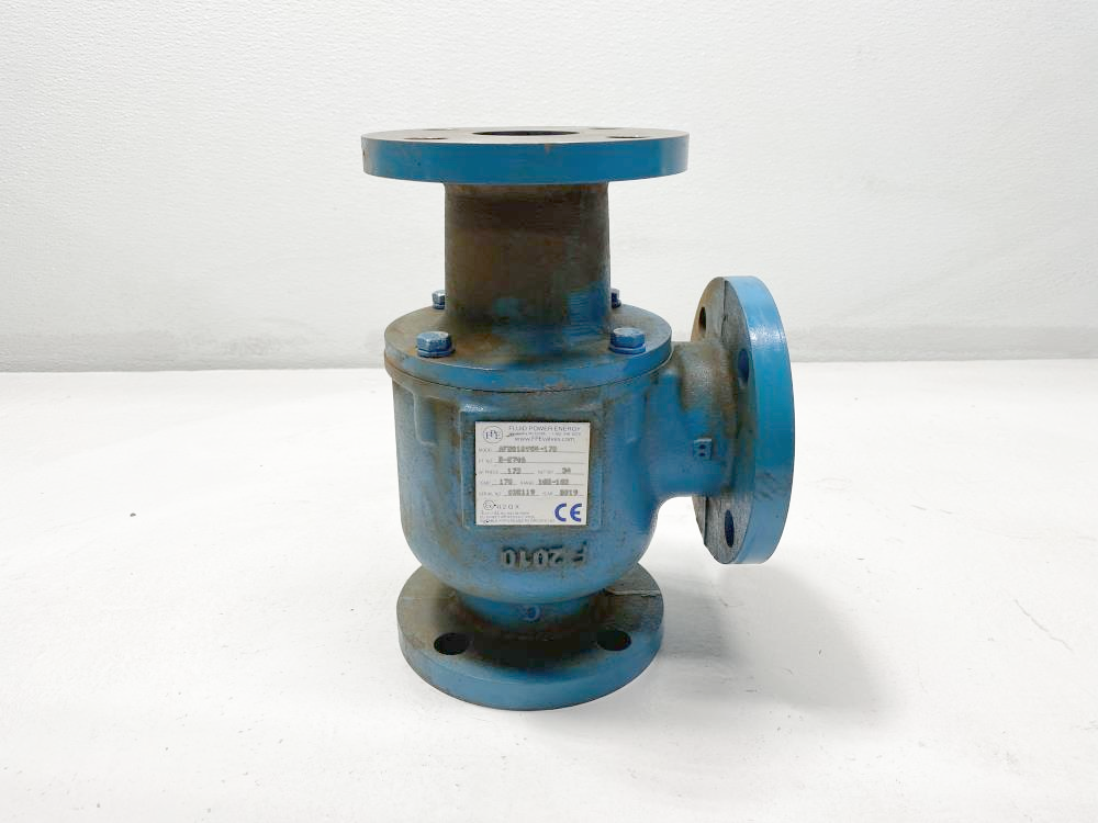 "FPE Fluid Power Energy 2"" Cast Iron Flanged Thermostatic Valve AF2010VW4-170"