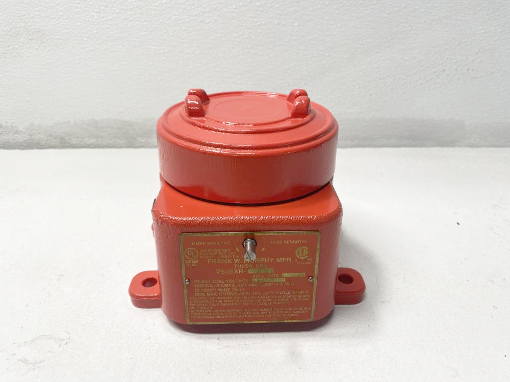 Murphy Explosion-Proof Shock and Vibration Switch 24VDC, VS2EXR-24