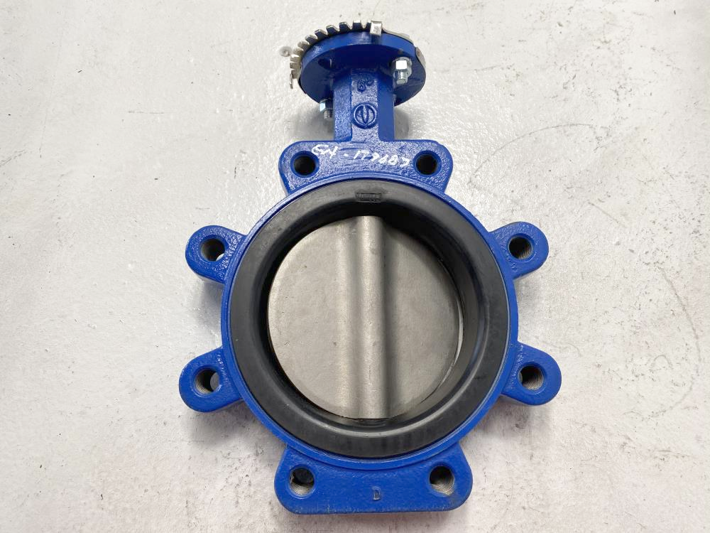 """ABZ 6"""" 250# Ductile Iron Butterfly Valve, 316SS Disc, EPDM Seat"""