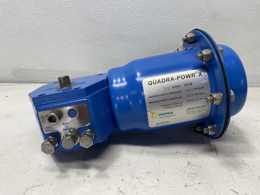 Jamesbury Metso Quadra-Powr X Diaphragm Actuator QPX1C/M