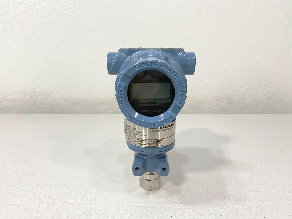 Rosemount 3051 Pressure Transmitter 0-150 PSI, 3051TG2A2B21AB4E5M5