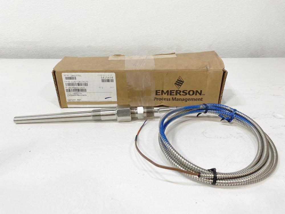 Rosemount Thermowell Sensor, Stainless Steel 114CE0055TAA2SC027A
