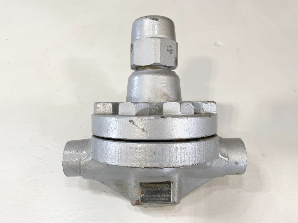 "Yarway 3/4"" Socket-Weld Bimetallic Steam Trap HP-150"