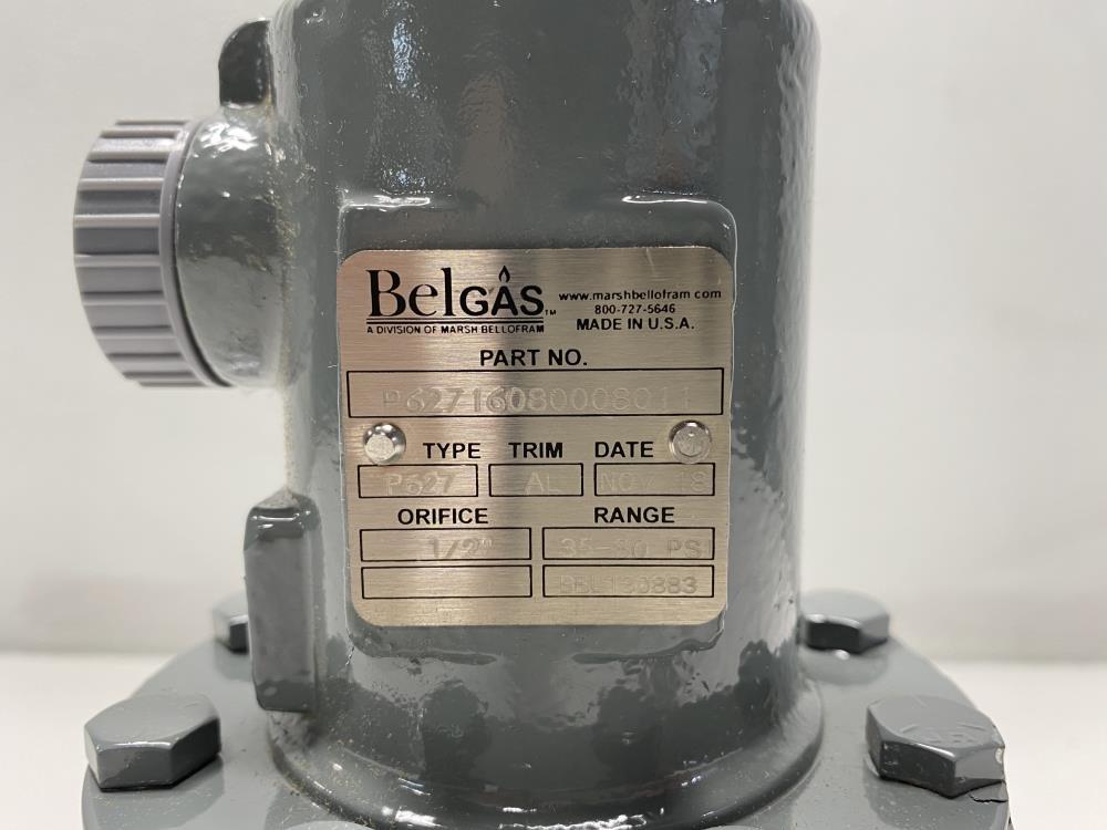 "Belgas P627 Carbon Steel Pressure Regulator, 2"" NPT, 35-80 PSI, P62716080008011"