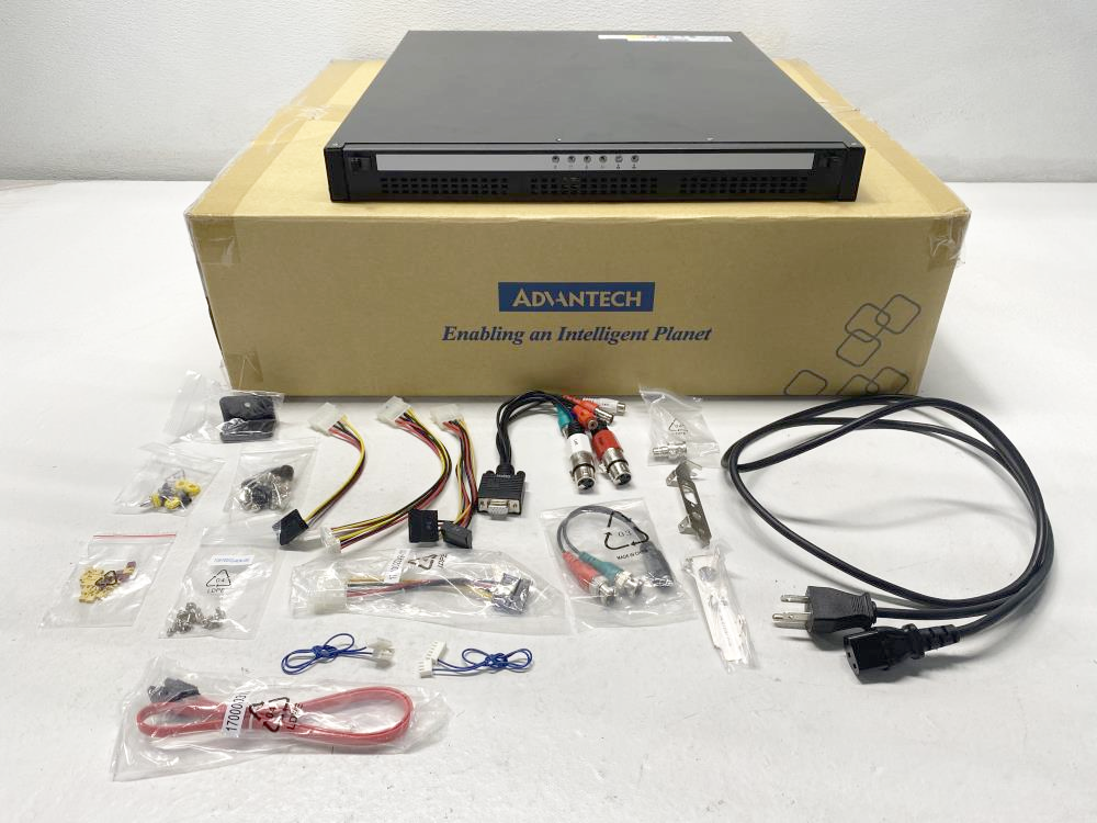 Advantech 1U BP Rackmount Chassis w/o BP w/o Flex ATX PSU ACP-1010BP-00BE