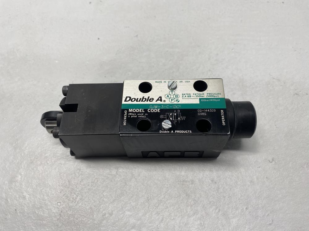 Double A Hydraulic Valve QJW-3-C-10C1