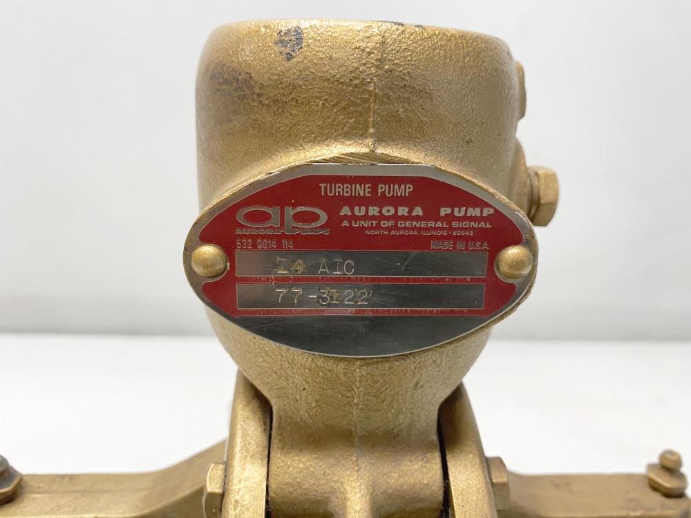 """Aurora 1-1/4"""" NPT Turbine Pump I4 AIC, 14-A-1"""