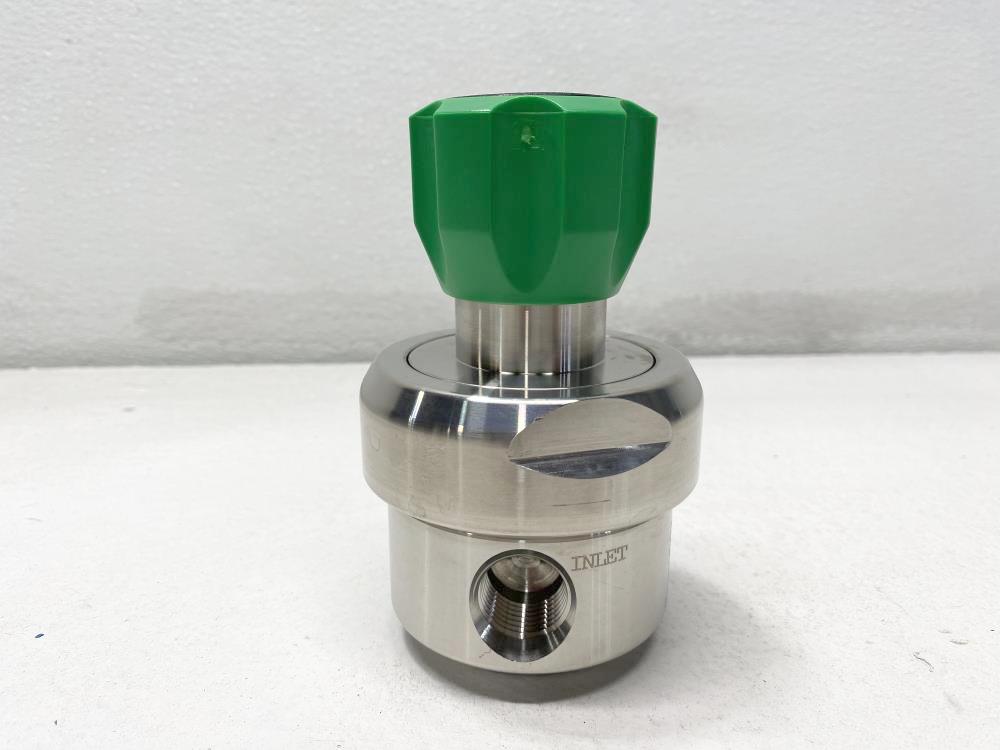 """Swagelok 1/2"""" Stainless High Flow Sensitivity BP Regulator KFB1F0A8A8A20000"""