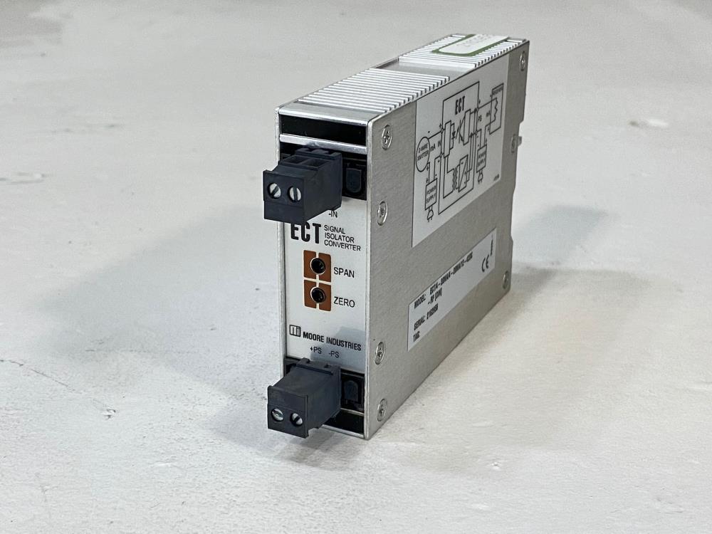 Moore ECT Signal Isolator Converter ECT/4-20MA/4-20MA/12-42DC